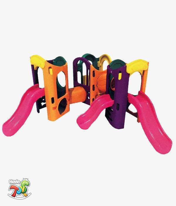 مجموعه بازی پلی اتیلن کودکان سه برج
