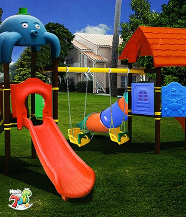 مجموعه بازی پارک و شهربازی کد 4012 1