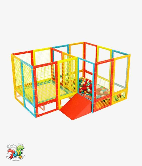 سافت پلی گراند کودک NT01 | تجهیزات مهد کودک نوین تویز