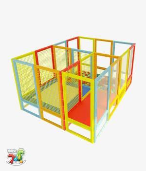 سافت پلی گراند NT02 | تجهیزات مهد کودک نوین تویز