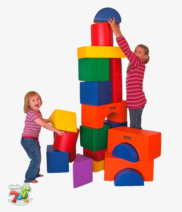 فوم برج سازی - تجهیزات مهد کودک نوین تویز