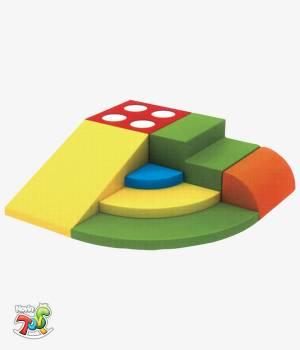 محصولات فومی کودک ترکیبی کد NT205 - تجهیزات مهد کودک نوین تویز
