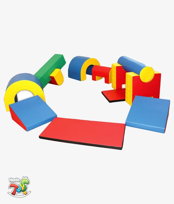 تجهیزات فومی کودک کد NT200 - تجهیزات مهد کودک نوین تویز