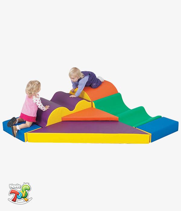 محصول فومی ترکیبی کد NT206 - تجهیزات مهد کودک نوین تویز