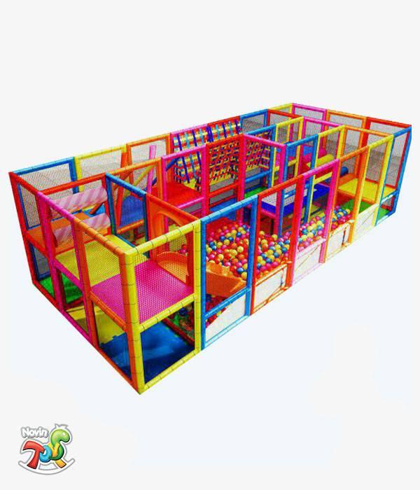 سافت پلی گراند کودک NT15 | تجهیزات مهد کودک نوین تویز