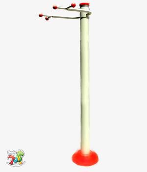 بارفیکس پلی اتیلنی - تجهیزات بدنسازی پارکی نوین تویز