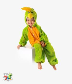 تنپوش کودکان طرح طوطی