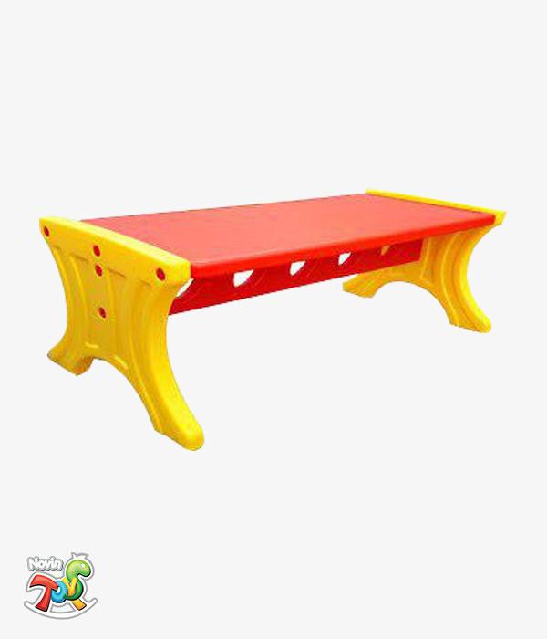 میز مستطیلی کودک - تجهیزات مهد کودک و خانه بازی نوین تویز