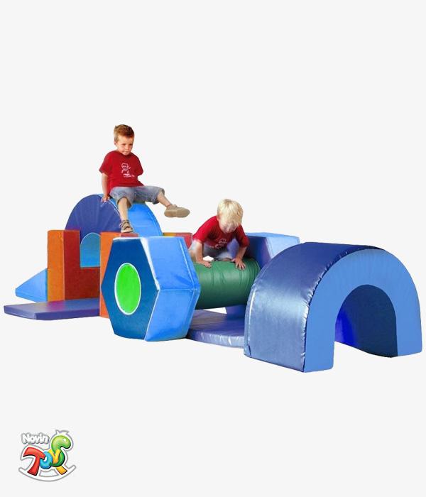 تجهیزات فومی مهدکودک کد NT204 - تجهیزات مهد کودک نوین تویز