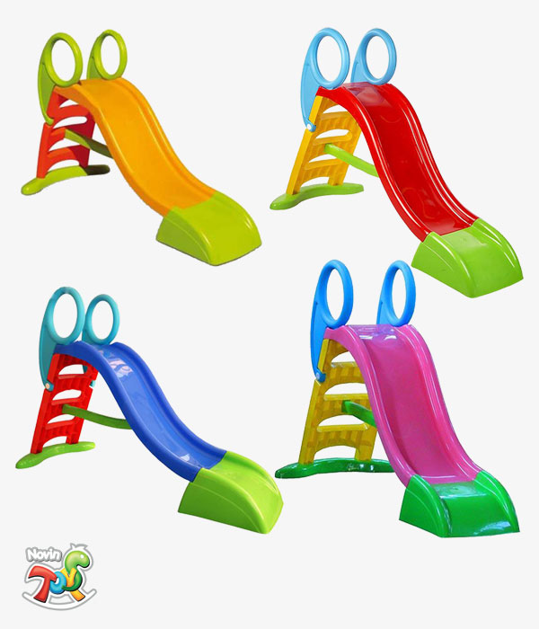سرسره 3 پله باران - تجهیزات مهد کودک و لوازم خانه بازی نوین تویز