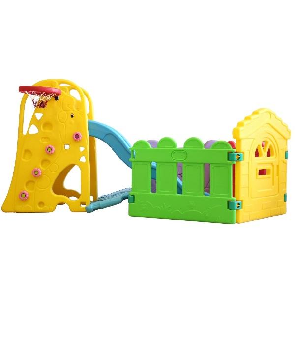 پارک بازی و سرسره طرح زرافه