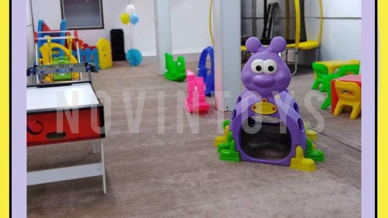 پروژه تجهیز خانه بازی سرپوشیده